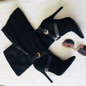 SHOE DAZZLE Mariana Black Boots